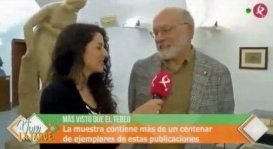 La exposición en Canal Extremadura