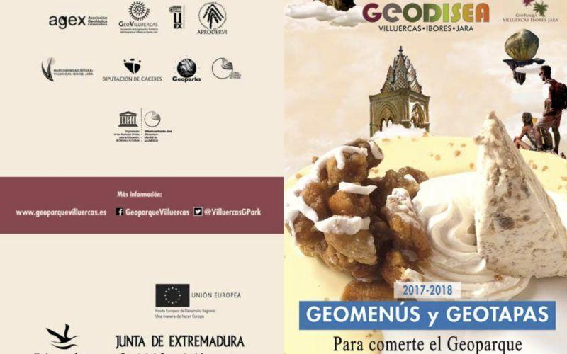 Geomenús y geotapas del Geoparque Villuercas Ibores Jara