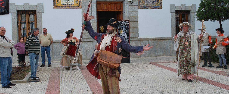 Teatro de calle con la compañía Guirigai