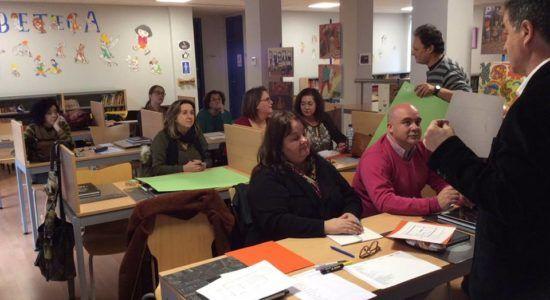 Taller de formación para bibliotecarios en Montijo